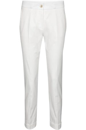 Etro Mid-rise stretch-cotton slim pants