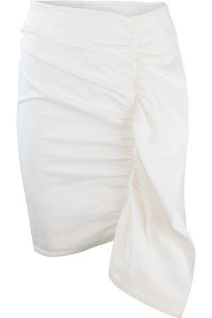 Sportmax Code Denim Frill Skirt