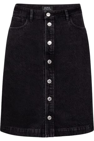 A.P.C. Therese high-rise denim miniskirt