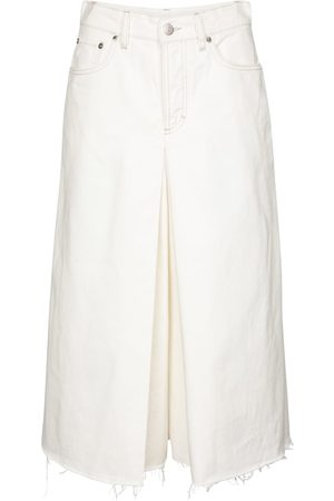 Maison Margiela High-rise denim culottes