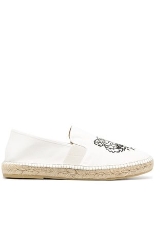 Kenzo Men Espadrilles - Tiger-embroidered espadrilles