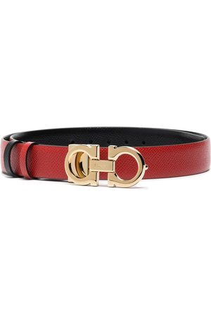 Salvatore Ferragamo Adjustable Gancini buckle belt