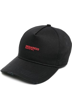 Dsquared2 Men Hats - Embroidered-logo baseball cap