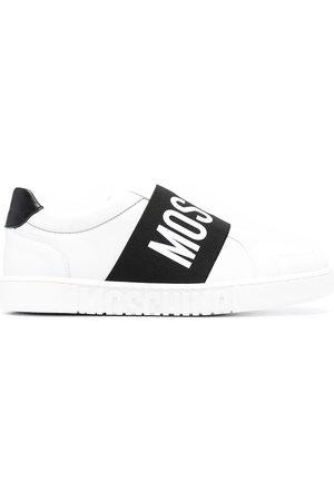 Moschino Logo print slip-on sneakers