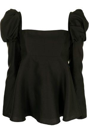 Macgraw Swifts silk-blend blouse
