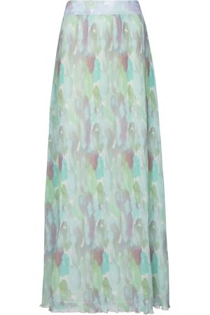 Ganni Pleated maxi skirt