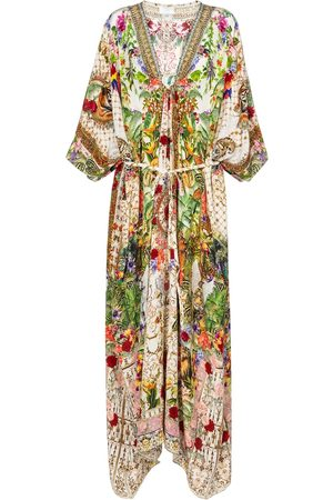 Camilla Printed cotton kaftan