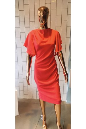 James Steward Women Pencil Dresses - Hardy Pencil Dress - Coral