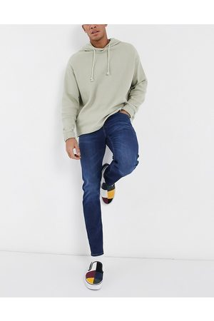 ASOS Stretch slim jeans in dark wash