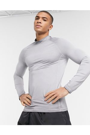ASOS Training long sleeve t-shirt with oil wash