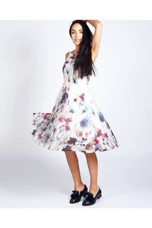 Women Printed Dresses - LAVINIA FLORAL SUMMER DRESS