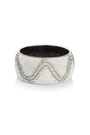 Ottaviani Bangle with white stones