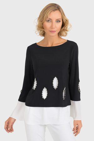 Joseph Ribkoff Women Tunics - KNITTED LAYERED TUNIC