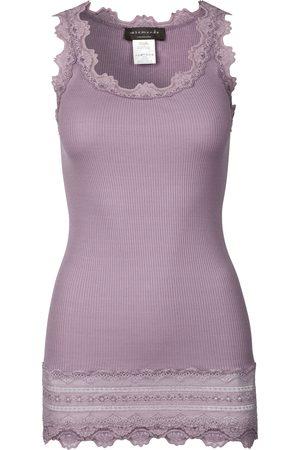 Rosemunde Women Camisoles - Benita Wide Lace Vest - Elderberry