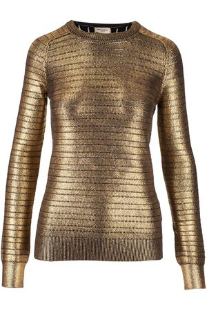 Saint Laurent Women Jumpers - SAINT LAURENT WOMEN'S 615481YANG28000 VISCOSE SWEATER