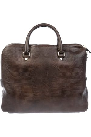 Orciani Men Briefcases - MEN'S PB0014TMORO LEATHER BRIEFCASE