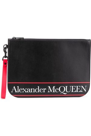 Alexander McQueen Men Wallets - MEN'S 5508151SJ5B1092 LEATHER POUCH