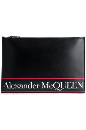 Alexander McQueen Men Wallets - MEN'S 5604721SJ6B1092 LEATHER POUCH