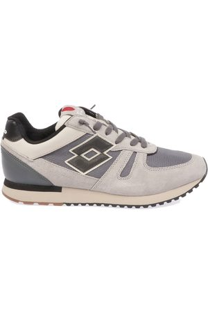 Lotto MEN'S L58233COOLGRAY FABRIC SNEAKERS