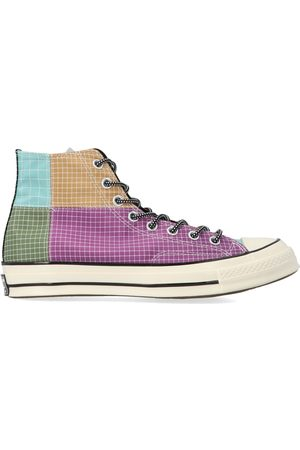 Converse MEN'S 166317C319 MULTICOLOR FABRIC HI TOP SNEAKERS