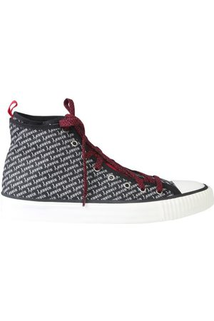 Lanvin Men Sneakers - MEN'S FMSKKBRUGOTIA191000 COTTON HI TOP SNEAKERS