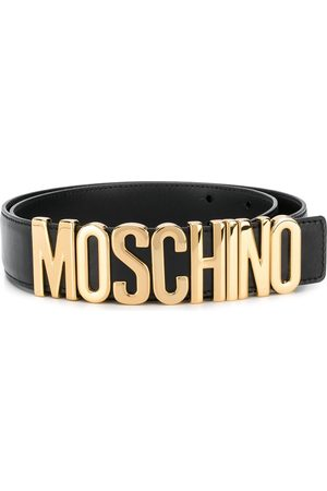 Moschino MEN'S A801280013555 LEATHER BELT