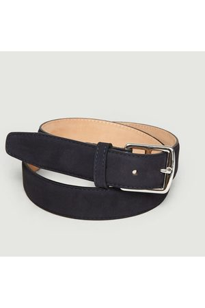 MAISON BOINET Nubuck Belt Night