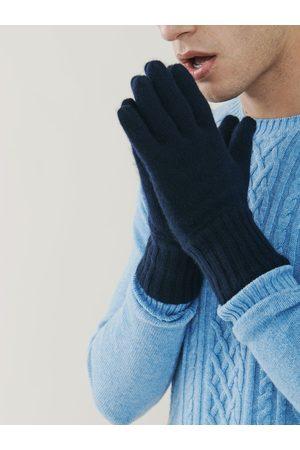 MrQuintessential Men Gloves - Alpine Cashmere Gloves - Navy