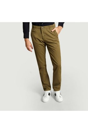 Knowledge Cotton Apparal Chuck The Brain Chinos Burned Olive Knowledge Cotton Apparel