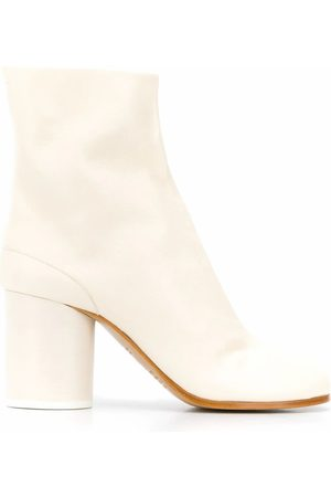 Maison Margiela Women Ankle Boots - WOMEN'S S58WU0260P3753T1003 LEATHER ANKLE BOOTS