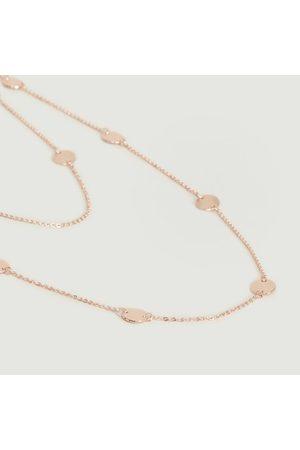Paola Krauze Multi Sun long necklace Pink