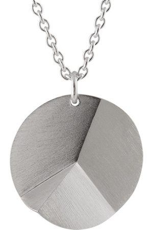 Sofie Lunoe Women Necklaces - Large Round Flake Necklace