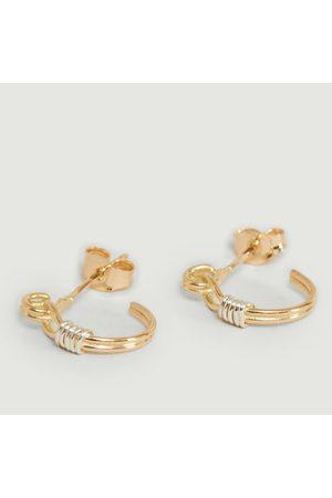 Monsieur Edgar Small hoop earrings Or jaune