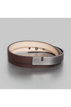 URSUL U-Turn Twice Bracelet Chocolat