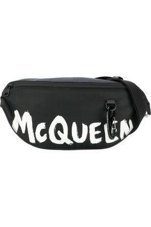 Alexander McQueen MEN'S 596425HWC1K1070 POLYAMIDE BELT BAG