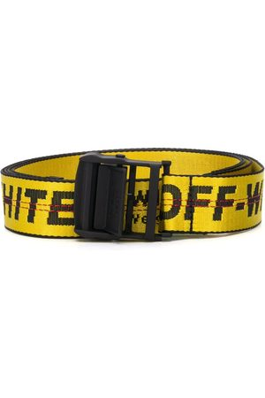 OFF-WHITE WOMEN'S OWRB009S20FAB0011810 LEATHER BELT