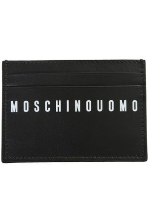 Moschino Men Wallets - MEN'S A810580012555 LEATHER CARD HOLDER