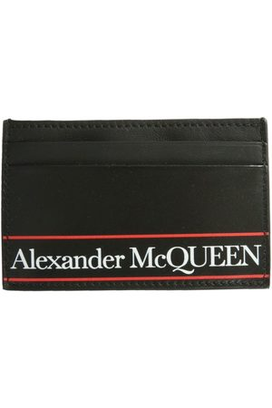 Alexander McQueen MEN'S 6021441SJ8B1092 LEATHER CARD HOLDER