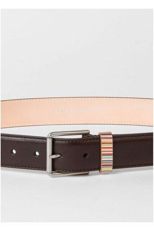 Paul Smith Men Belts - Keeper Stripe Detail Belt