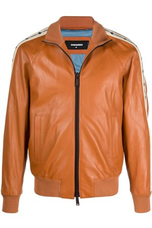 Dsquared2 Bomber leather jacket