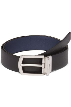 Prada Reversible Saffiano leather belt