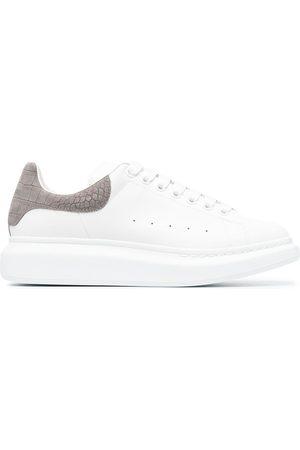 Alexander McQueen Oversize leather sneakers