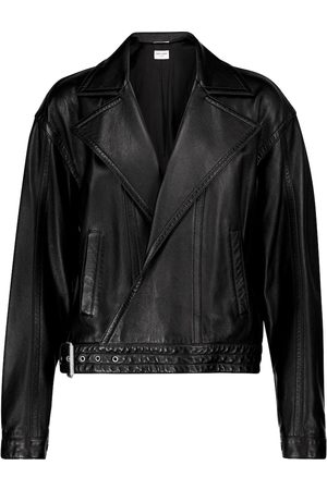 Saint Laurent Lamb leather jacket