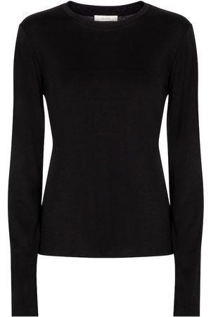 The Row Shermann cotton-jersey top