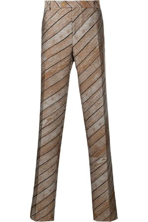 WALTER VAN BEIRENDONCK Striped tailored trousers