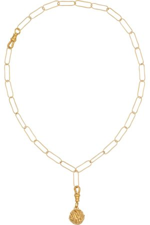 Alighieri The Unfolding Reverie Chapter II 24kt -plated necklace