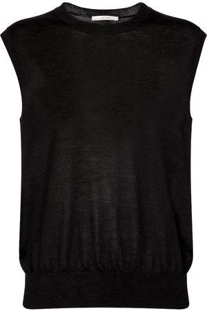 The Row Balham cashmere vest