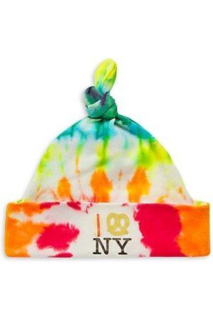 PiccoliNY Baby's Tie-Dye Hot Dog Pretzel NY Knot Hat