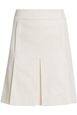 AKRIS Inverted Pleat Skirt