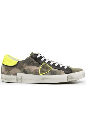 Philippe model Prsx Camouflage Neon low-top sneakers